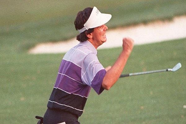 Golf Chip Secret – Larry Mize's Sudden Death Victory