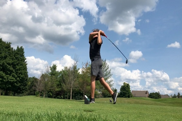 Preventing The Ball From Hitting High On The Clubface