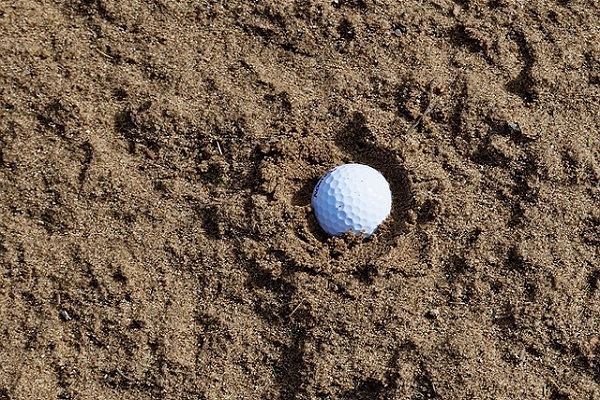 What To Do If Your Ball Lands In A Sand Trap?