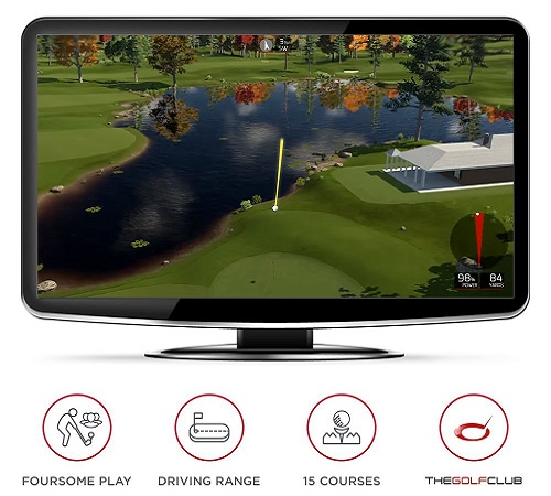 Rapsodo R-Motion The Golf Club Simulator And Swing Analyzer
